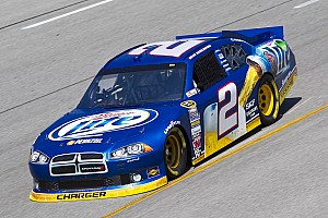Keselowski qualified 13th and Hornish 16th at Chicagoland
