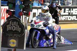 NHRA Race report Arana Jr. endures a wild ride to semifinal finish in Charlotte