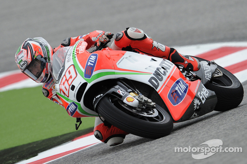 Promising test for Ducati Team at Misano