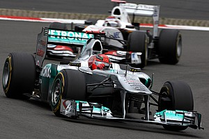 Formula 1 Rumor Sauber would run Schumacher in 2013