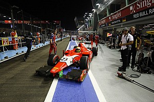 GP2 Race report Razia shines in Singapore, but title slips away