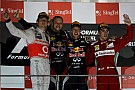 Vettel capitalizes on Hamilton heartbreak in Singapore