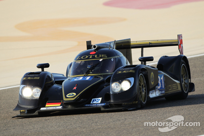 Lotus was on track at the first day of the 6 Hours of Bahrain