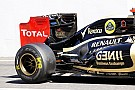 Lotus were not able to get 'The Device' functioning on Japanese GP