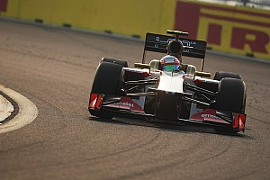 Formula 1 Race report HRT's Karthikeyan finished the race at Korea International Circuit