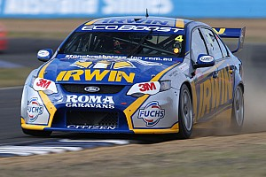 V8 Supercars Practice report Solid day for IRWIN Racing on Gold Coast streets