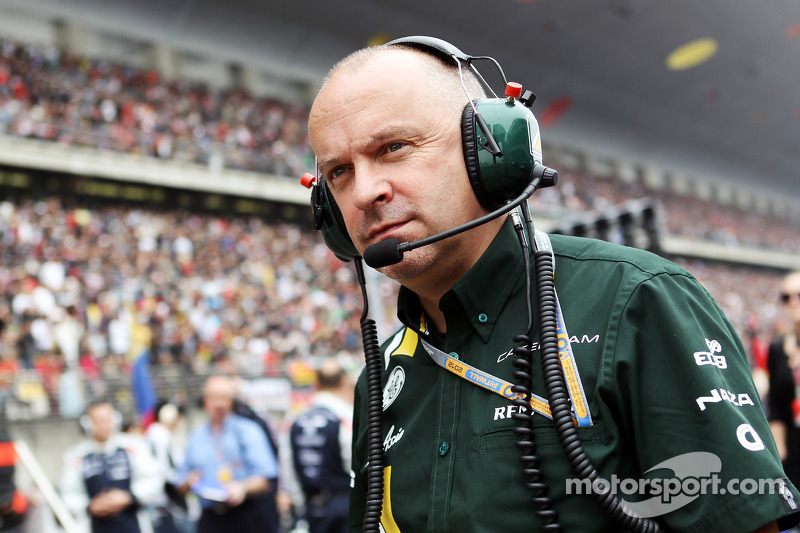 Gascoyne admits to missing F1 pitwall