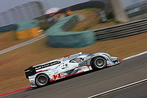 WEC Qualifying report Audi's McNish on front row of the grid at Shanghai