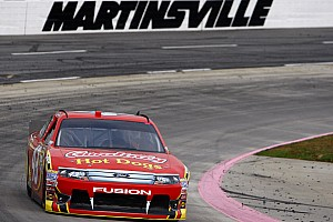 NASCAR Sprint Cup Race report Almirola top Ford finisher at Martinsville with a fourth place
