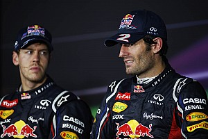 Formula 1 Breaking news Red Bull still counting on Webber's team spirit