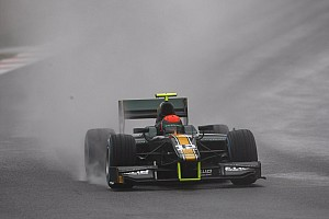 GP2 Testing report Rossi and Caterham pleased with two day test in Barcelona