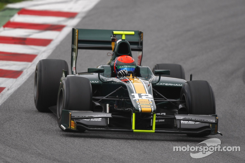 Rossi and Caterham pleased with two day test in Barcelona
