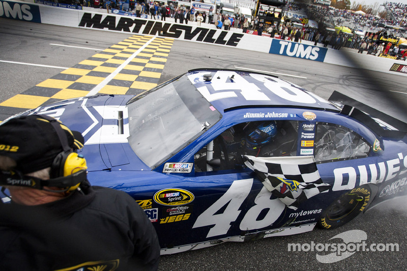 Jimmie Johnson focus on the Chase for the NASCAR Sprint Cup