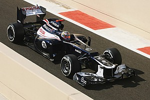 Maldonado qualified 4th and Senna 15th for tomorrow's Abu Dhabi GP
