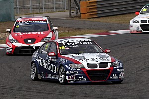 WTCC Race report Third place for BMW driver Tom Coronel in race at Shanghai