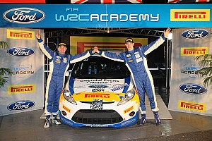 WRC Preview Pirelli-backed Academy teams prepare for season finale in Spain