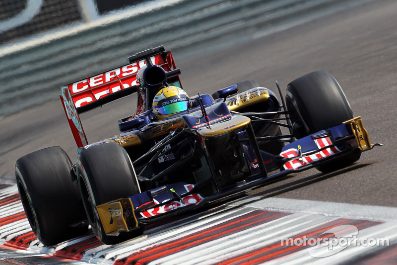 The Brazilian Razia test with the Scuderia Toro Rosso in Abu Dhabi