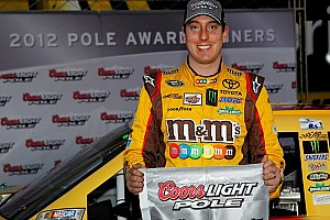 NASCAR Sprint Cup Qualifying report Kyle Busch heats up PIR to grab the pole in record time