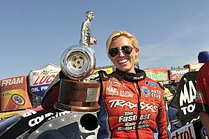 NHRA Breaking news Courtney Force wins 2012 Road To The Future Award