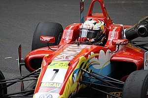 F3 Qualifying report Felix da Costa wins Macau qualification race