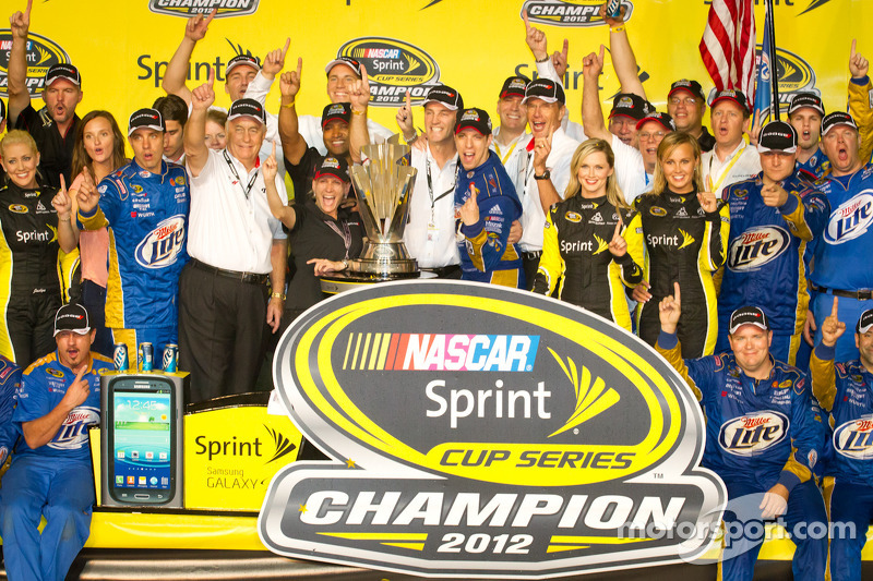 Keselowski, Penske on winning the 2012 Championship