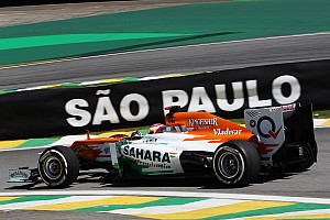 Formula 1 Practice report Sahara Force India shows competitive times on Friday at Interlagos