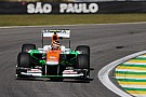 Sahara Force India continued to show strong form in São Paulo with top-10 qualifiying