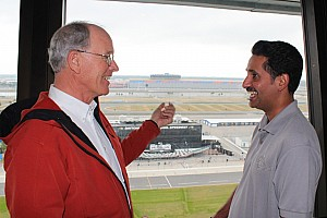Grand-Am Breaking news Bahrain executive meets GRAND-AM founder during behind-the-scenes tour