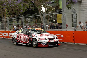 V8 Supercars Race report Hot and bothered at Homebush Street Circuit