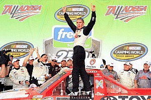 NASCAR Truck Breaking news Kligerman moves on, replaced by Townley - video