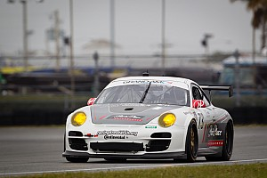 Grand-Am Testing report Porsche GT entrants complete Daytona 24H testing weekend