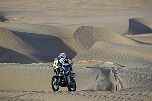 Dakar Stage report Peru: Stage 4 from Nazca to Arequipa was not smooth sailing - video