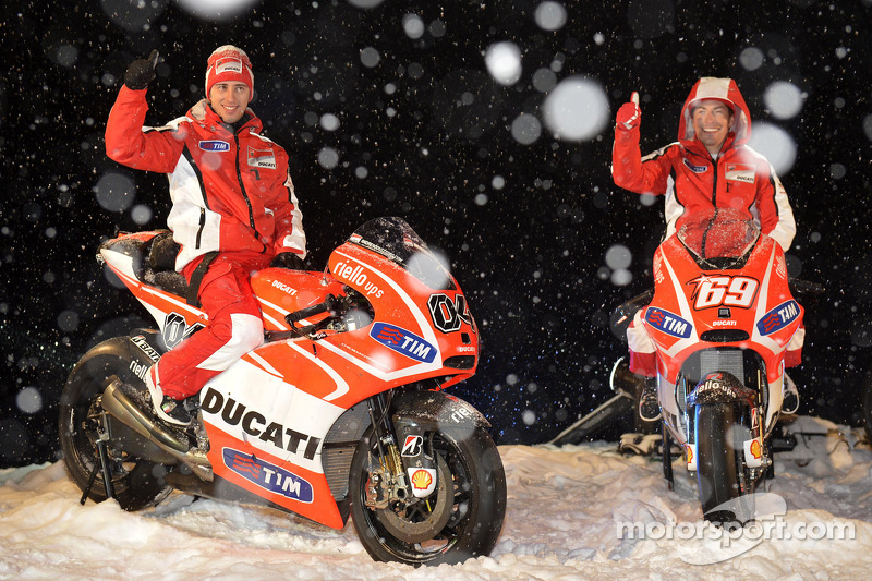 High-altitude launch for Ducati Team at Madonna di Campiglio