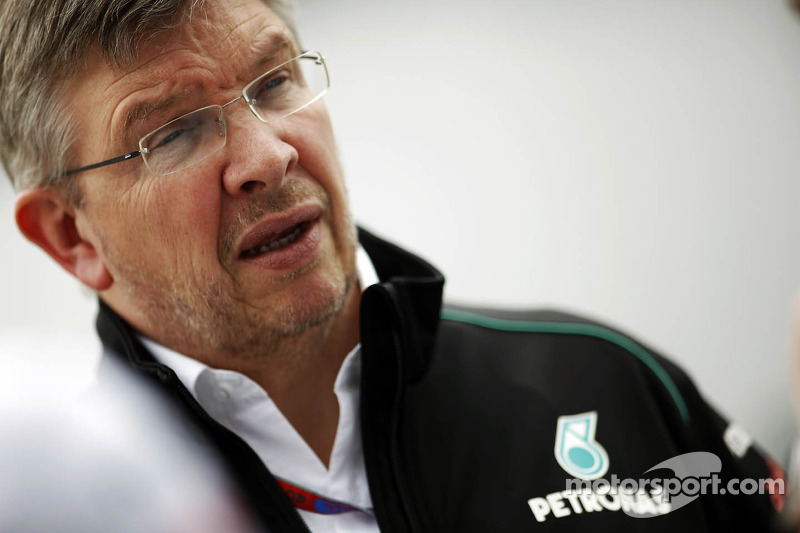 Wolff hopes angry Brawn doesn't quit