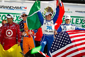 Grand-Am Race report Scott Pruett wins record setting fifth Rolex 24 on Continental's