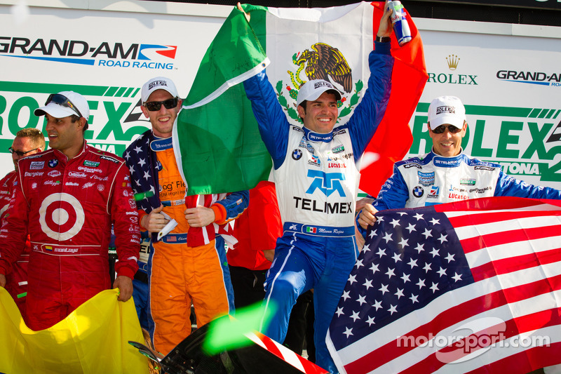 Scott Pruett wins record setting fifth Rolex 24 on Continental's