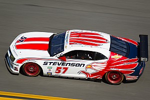 Grand-Am Race report Long fight, early end for Stevenson Motorsports in Rolex 24 at Daytona