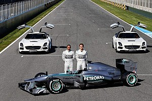 Formula 1 Breaking news Mercedes AMG's F1 W04 takes center stage at Jerez