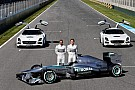 Mercedes AMG's F1 W04 takes center stage at Jerez