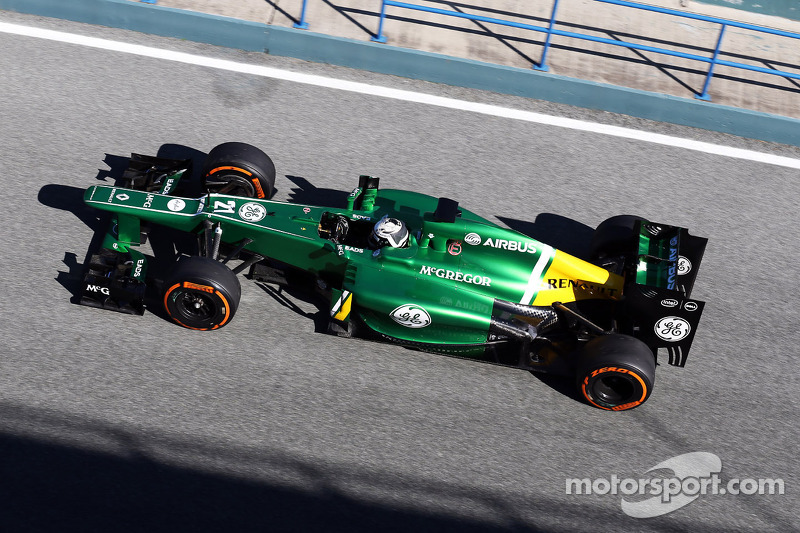 Brighter Caterham sparks first controversy of 2013