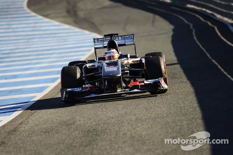 Sauber team has productive day two in Jerez testing