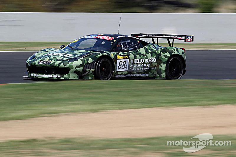 Cammo Ferrari tops competitive Practice day at Bathurst