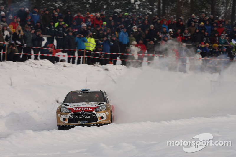 Citroen holds onto points lead at end of Swedish Rally