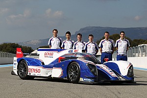 WEC Interview Toyota Racing drivers look ahead to 2013