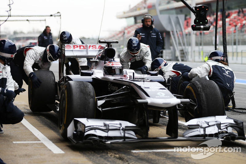 End of a encouraging week for Williams in Barcelona
