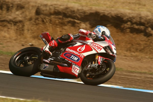 Carlos Checa wins Superpole at Phillip Island