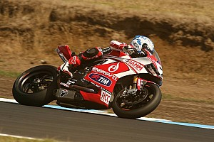World Superbike Qualifying report Carlos Checa wins Superpole at Phillip Island