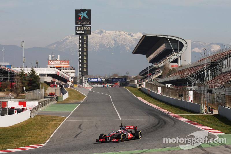McLaren ends the three weeks of testing in Spain