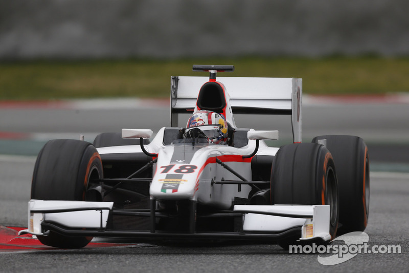Coletti ends pre-season testing on top in Barcelona