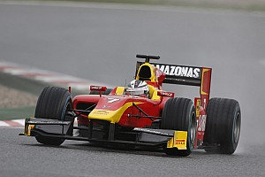 GP2 Testing report Racing Engineering complete pre-season testing at Barcelona